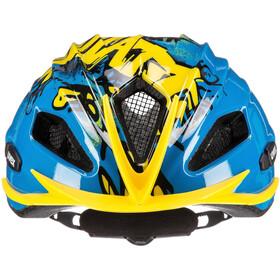 UVEX Quatro Junior Helmet blue/yellow